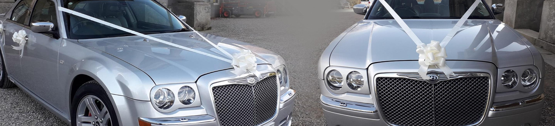 Bentley style Chrysler wedding car Teesside